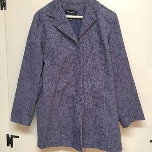 Denim&Co Jackets & Coats - Corduroy Brocade Jacket from Denim&Co